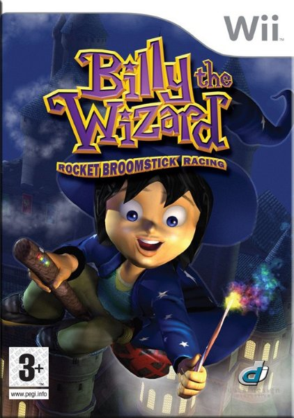 Billy the Wizard: Rocket Broomstick Racing til Wii