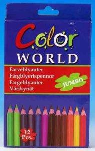 Fargeblyanter 12 stykker