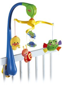 Fisher-Price Friendly first musical mobile
