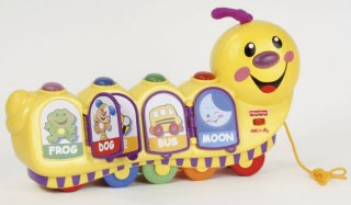 Fisher-Price Laugh & Learn caterpillar