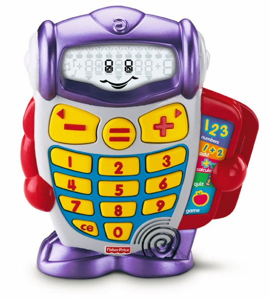 Fisher-Price Laugh & Learn Preschool Calculator
