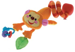 Fisher-Price Monkey Stroller Toy