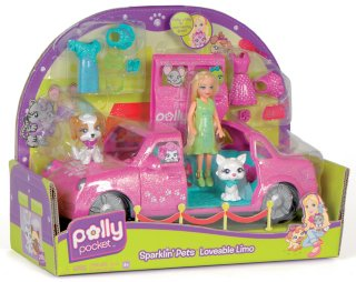 Fisher-Price Sparklin' Pets Pawsh Limo