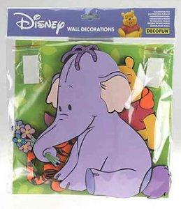Disney Toys Heffalompen veggdekor 20 x 20