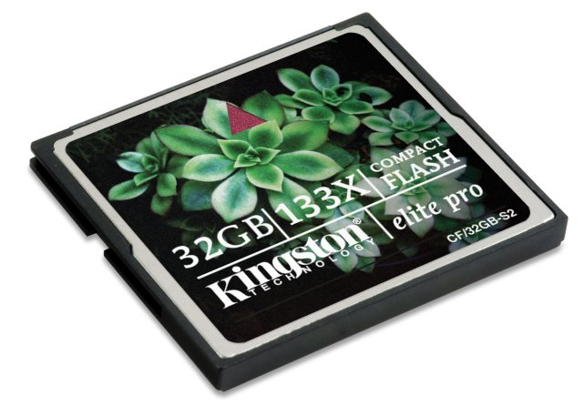 Kingston Compact Flash Elite Pro 133X 32 GB