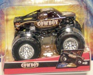 Mattel Hot Wheels Monster Jam DIE-CAST Cowboy