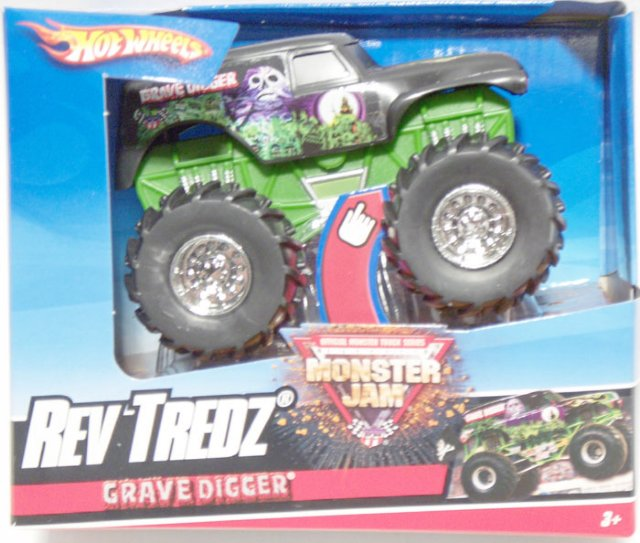 Mattel Hot Wheels Monster Jam Grave Digger