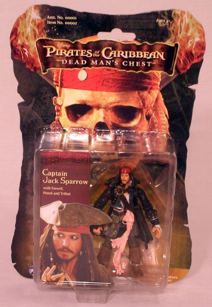 Jack Sparrow figur