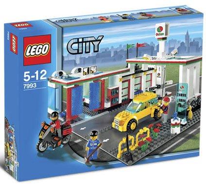 LEGO City Bensinstasjon