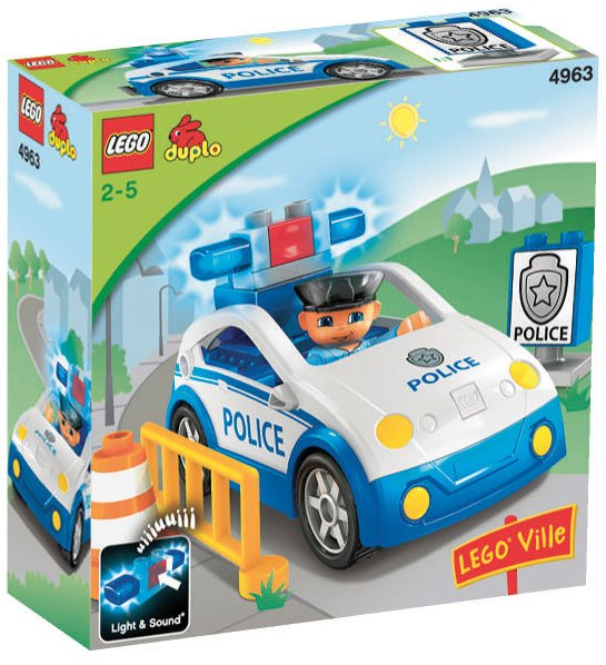 LEGO Duplo Lego Ville Politipatrulje