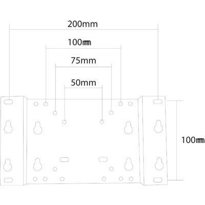 Deltaco ARM 406 veggmontering | Multicom
