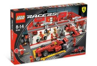 LEGO Racers Ferrari F1 Team