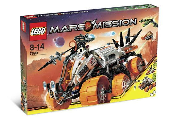 LEGO Mars Mission MT-101 Pansret borekjøretøy
