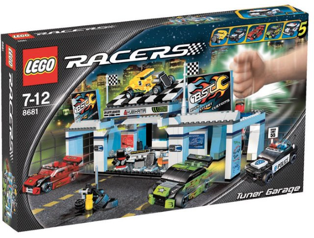 LEGO Racers Garasje