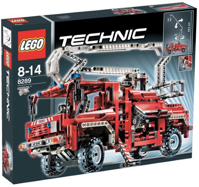 LEGO Technic Brannbil