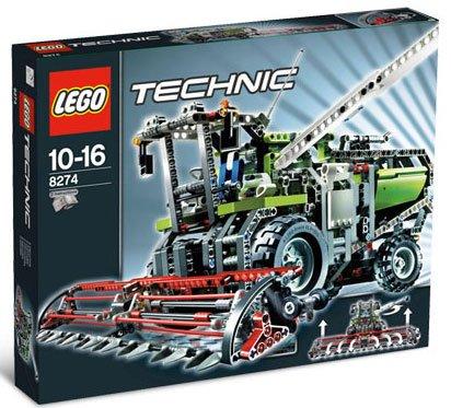 LEGO Technic Skurtresker
