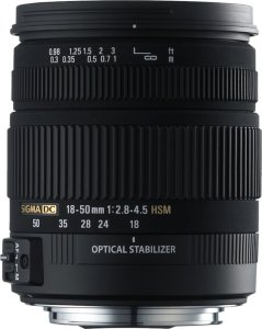 Sigma 18-50mm F/2.8-4.5 DC OS HSM for Nikon