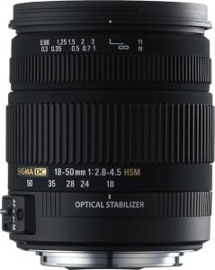 Sigma 18-50mm F/2.8-4.5 DC OS HSM for Pentax