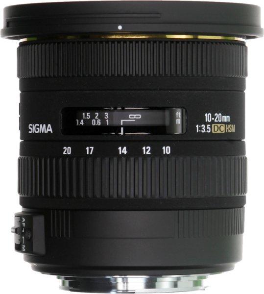 Sigma 10-20mm F3.5 EX DC HSM for Pentax