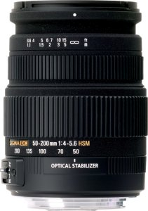 Sigma 50-200mm F4-5.6 DC OS HSM for Canon
