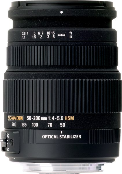 Sigma 50-200mm F4-5.6 DC OS HSM for Sony
