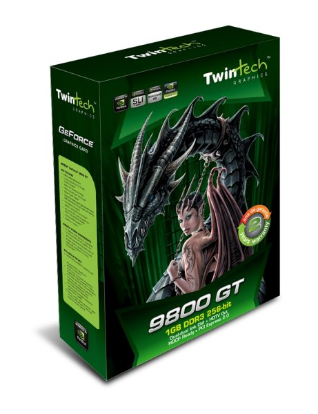 Twintech GeForce 9800GT 1 GB