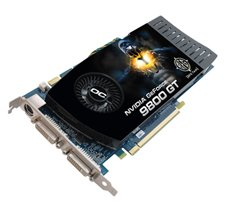 BFG Tech GeForce 9800GT OC 512 MB