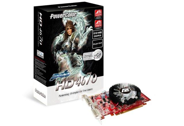 PowerColor Radeon HD 4670 1024 MB