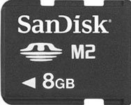 SanDisk Memory Stick M2 Mobile Ultra 8 GB