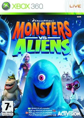 Monsters vs Aliens til Xbox 360