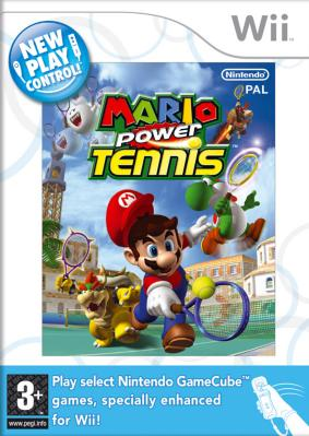 Mario Power Tennis til Wii
