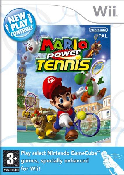 Mario Power Tennis til Wii