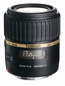 Tamron SP AF 60mm F/2.0 Di II Macro 1:1 for Canon