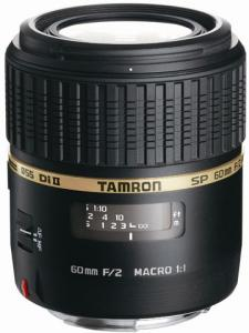 Tamron SP AF 60mm F/2.0 Di II Macro 1:1 for Nikon