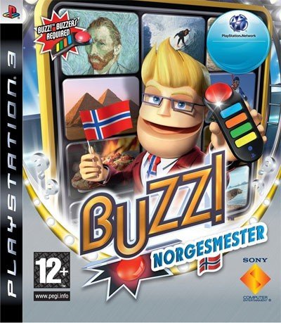 Buzz! Norgesmester til PlayStation 3