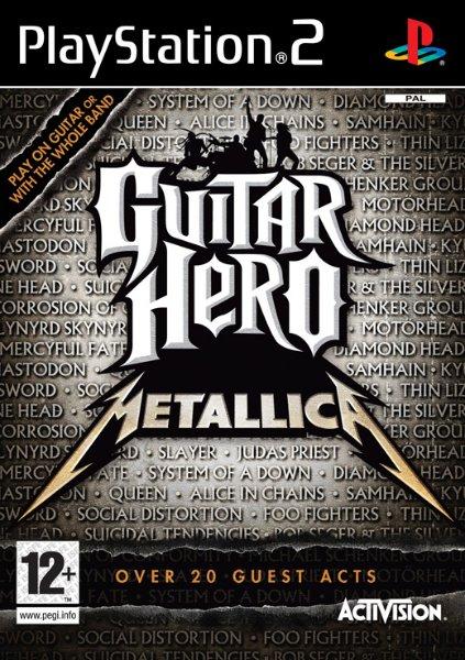 Guitar Hero: Metallica til PlayStation 2