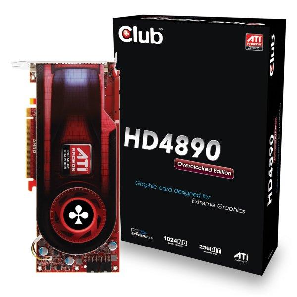 Club3D Radeon HD 4890 OC