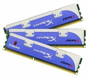 Kingston HyperX DDR3-1600 12 GB (3 x 4 GB)