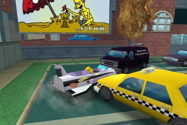 The Simpsons: Hit & Run til PlayStation 2