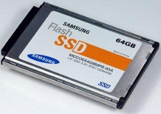Samsung SSD 64 GB