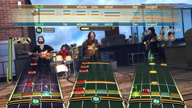 The Beatles: Rock Band til Xbox 360