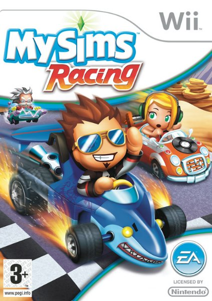 MySims Racing til Wii