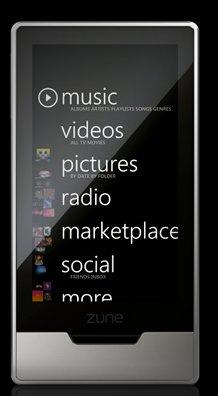 Microsoft Zune HD