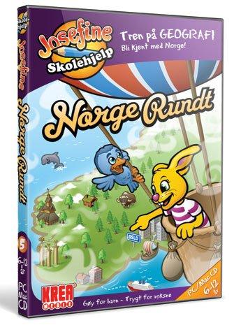 Josefine skolehjelp: Norge rundt til PC