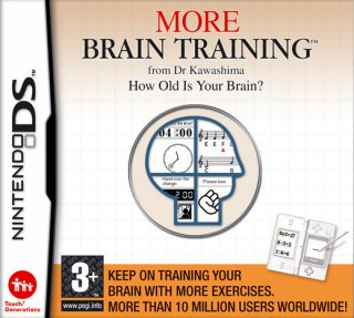 More Brain Training from Dr. Kawashima til DS
