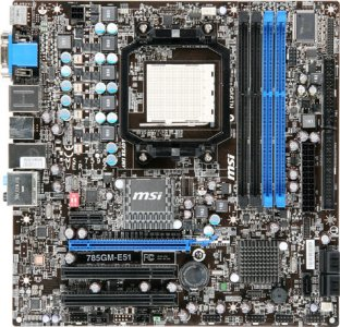 MSI 785GM-E51
