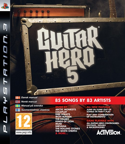 Guitar Hero 5 til PlayStation 3
