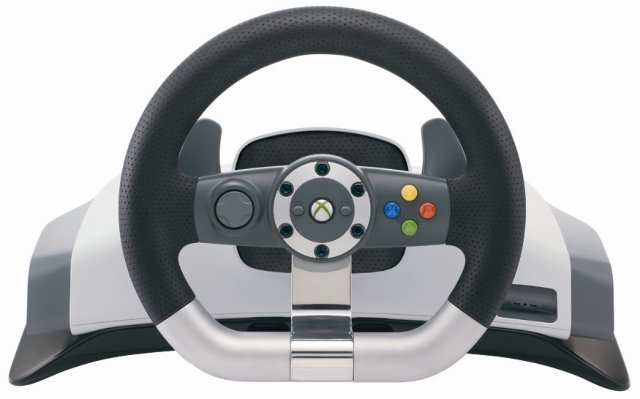 Microsoft Xbox 360 Wireless Racing Wheel