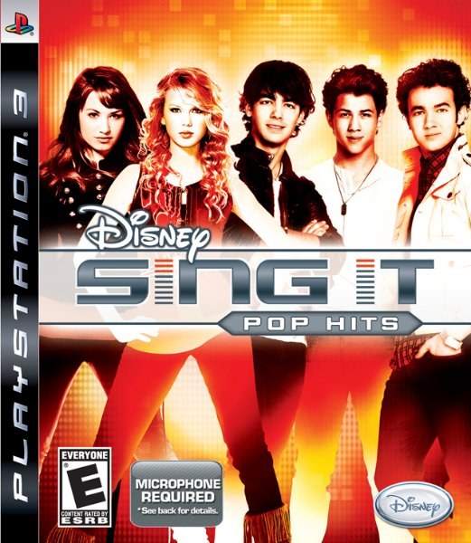 Disney Sing It: Pop Hits til PlayStation 3