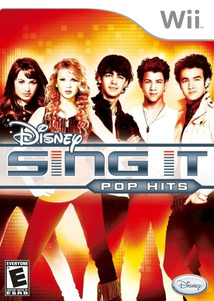 Disney Sing It: Pop Hits (med mikrofon) til Wii